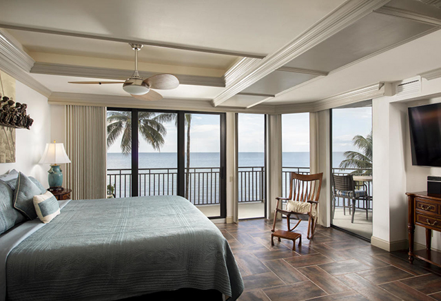 Bedroom with views 1800 Atlantic Blvd 200A, Key West, FL 33040