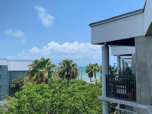 1800 Atlantic Blvd Unit C425 Key West, Fl 33040 This is the only 3 bedroom 3 bath unit in the complex.