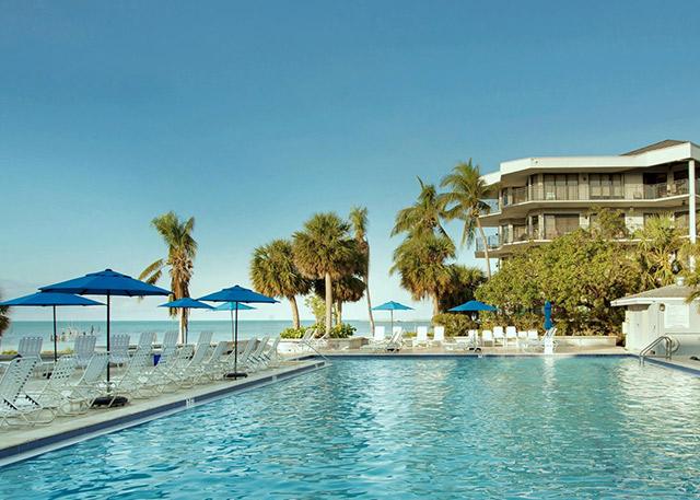 Key West Rentals at 1800 Atlantic, Unit A400 Pool
