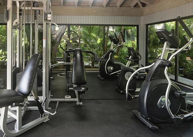 Key West Rentals at 1800 Atlantic, Unit A400 Gym