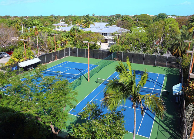 Key West Rentals at 1800 Atlantic, Unit A400 Tennis Courts